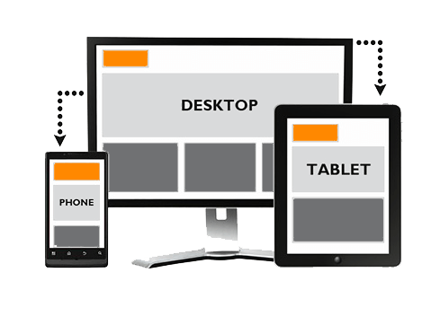 Illustration for responsive webdesign